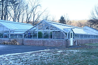 Southbury, Connecticut - Southbury Training School greenhouse
