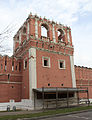 Southern tower of the western wall of Donskoy Monastery 04.jpg
