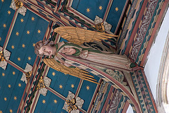 St Edmund's Church, Southwold - Angels in the ceiling