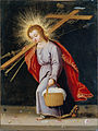 Spanish or South American - The Infant Christ Bearing the Instruments of the Passion - Google Art Project.jpg
