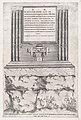 Speculum Romanae Magnificentiae- Sepulchre of Lupus MET DP870259.jpg