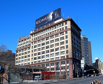 Sperry Corporation - Factory building, Brooklyn