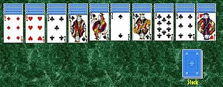 Spider (solitaire) type of Patience game