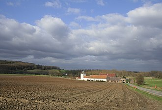 Spiennes - The Ferme du Fief, on the outskirts of Spiennes