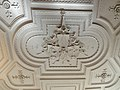 Spiez, château. Deuxième étage, salle des fêtes, 1614. Médaillon central.jpg