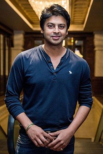 Srikanth (Tamil actor) - Srikanth at the Curtain Raiser of Chepauk Super Gillies