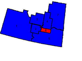 Canadian federal election results in Southern Saskatchewan - Key map