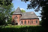 St.John the Baptist's church, Burringham - geograph.org.uk - 181562.jpg