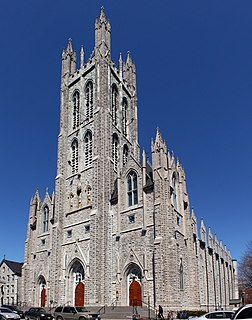 St. Marys Cathedral, Kingston Church in Ontario, Canada