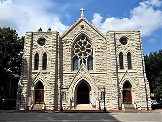 St. Patrick Cathedral (Fort Worth, Texas) - Image: St. Patrick Cathedral Fort Worth, Texas 01