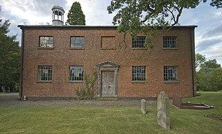 St Johns Church, Threapwood Church in Cheshire, England