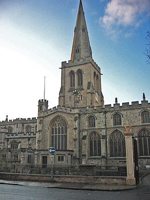 St Paul's Church, Bedford - Image: St Pauls Church Bedford