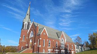 Underhill, Vermont - St. Thomas Church in Underhill Center