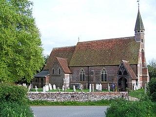 Landford village in the United Kingdom