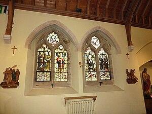 St. Edmund Church, Southampton - Image: St Edmund's Church windows, Southampton by Basher Eyre Geograph 3205353