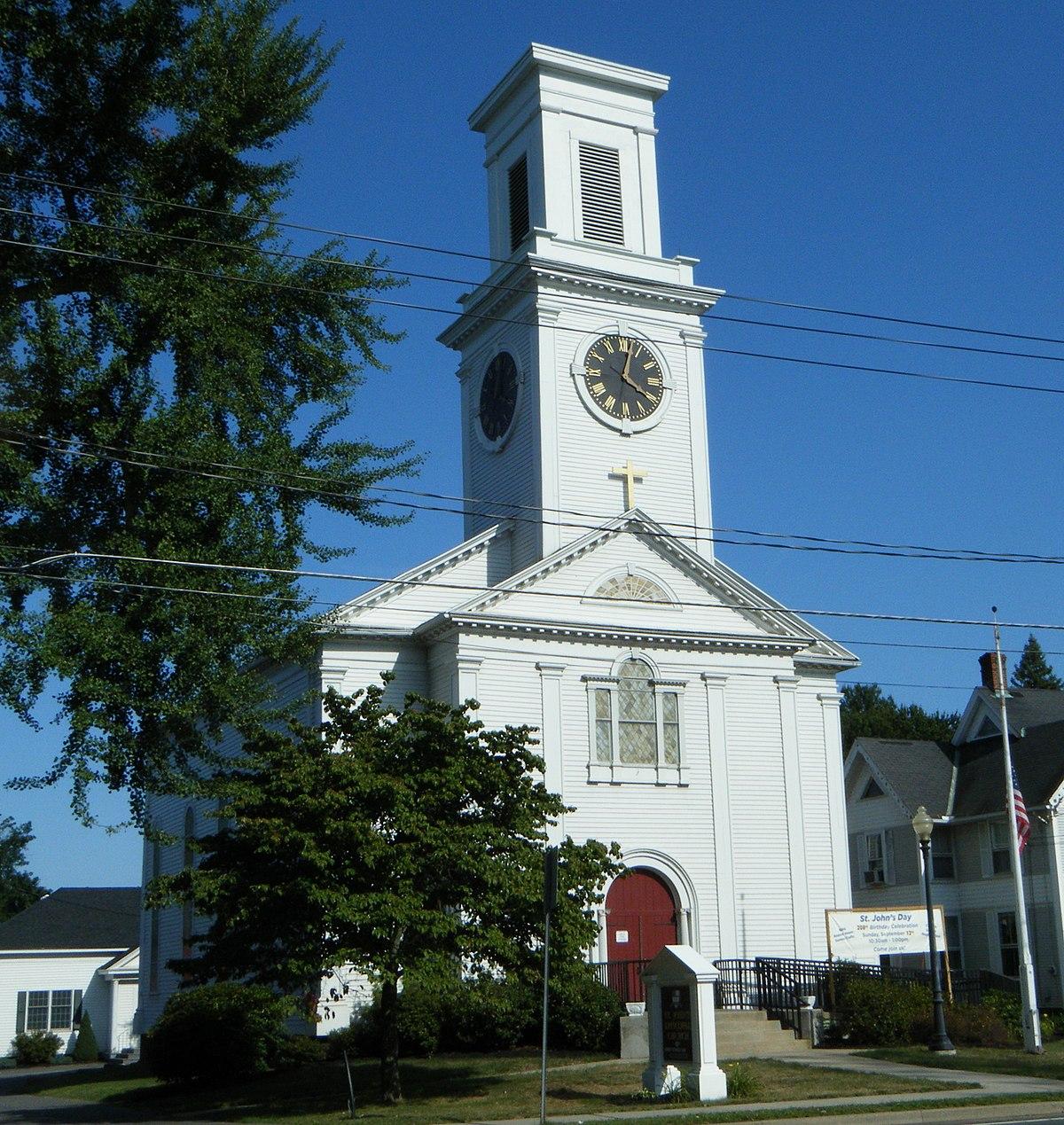 St. John\'s Episcopal Church (Warehouse Point, Connecticut ...