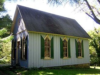 St. John's Church (Ruxton, Maryland) - North side