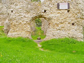 Odiham Castle - 2006 photo
