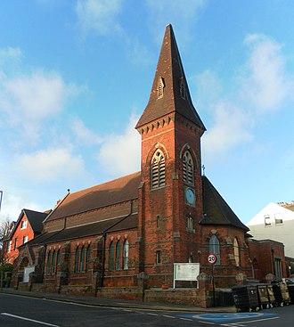 Prestonville, Brighton - Image: St Luke's Church, Old Shoreham Road, Prestonville