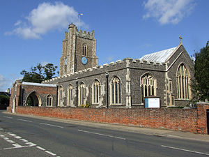 St Peter and St Paul's Church, Aldeburgh - Image: St Peter and St Paul's Church, Aldeburgh, Suffolk