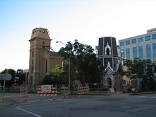 Last Days Of St Raphaels Cathedral >> Saint Raphael S Cathedral Madison Wisconsin Wikipedia