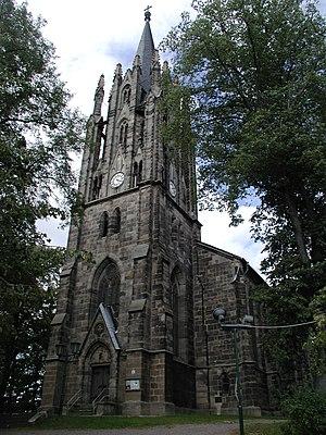 Königsee - Image: Stadtkirche Zum Lobe Gottes Koenigsee Thuringia Germany