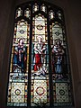 Stained glass window, Parish Church of St. Peter and St. Paul - geograph.org.uk - 979529.jpg