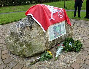 Battle of Stamford Bridge - Stamford Bridge battlefield memorial near Whiterose Drive