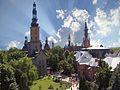 Stary Licheń - widok z Golgoty na kościół Św. Doroty - panoramio.jpg