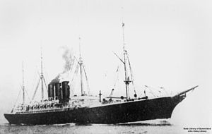 Inman Line - Image: State Lib Qld 1 125027 City of Rome (ship)
