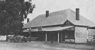 Leyburn, Queensland - Royal Hotel, Leyburn, circa 1933