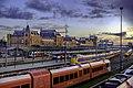 Station Groningen vanaf Emmaviaduct.jpg