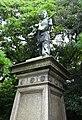 Statue of Umashimadenomikoto by Akira Sano.jpg