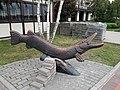 Statues of Pike from Kremenchuk 01.jpg