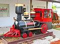 Steam locomotive - model, Land of the Lakes, Lake Placid, Florida.jpg