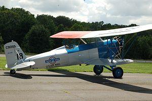 Stearman M-2 Speedmail - Last surviving Stearman M-2 aircraft