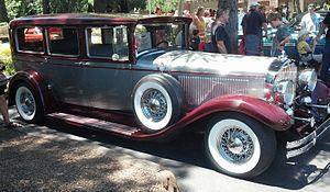 Stearns-Knight - A 1929 Stearns-Knight 7 passenger sedan.