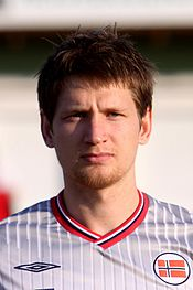 Stefan Strandberg (Vålerenga Oslo) - Norway national under-21 football team (01).jpg
