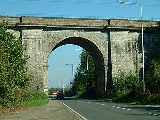 Blisworth - Image: Stephenson Bridge Blisworth England
