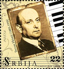 Description de l'image Stevan Hristić 2009 Serbian stamp.jpg.