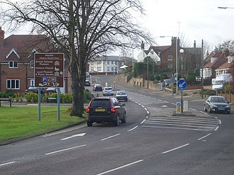 A602 road - Image: Stevenage Road A602
