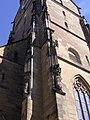 Stiftskirche Stuttgart Westturm Strebepfeiler.jpg