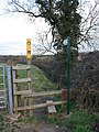 Stile in Old Dalby, Leicestershire - geograph.org.uk - 148236.jpg