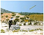 Stinger missile launch at a proving ground.jpg