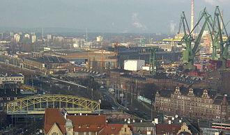 Gdańsk Shipyard - Image: Stocznia Gdanska 1