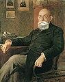 Stojan Novaković, portrait by Uroš Predić.jpg