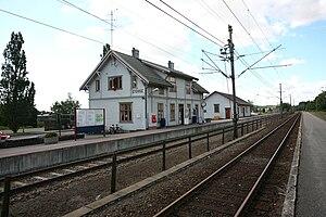 Stokke - Image: Stokke stasjon TRS 070725 002