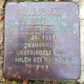 Stolperstein Beckedorf Kirchweg 1 Berthold Lebenstein.jpg