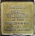 Stolperstein Elberfelder Str 20 (Moab) Samuel Wolkenheim.jpg