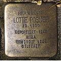 Stolperstein Gelsenkirchen Arminstraße 3 Lotte Posner.JPG